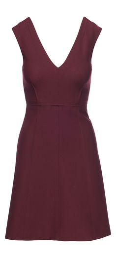 Elizabeth and James Charlie Sleeveless V Neck Dress in Bordeaux / Manage Products / Catalog / Magento Admin