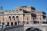 The Kungliga Operan or Royal Opera House is Sweden's premier stage for opera and ballet. It was built in the 19th century at the Gustav Adolf square, the site of Stockholm's first opera house