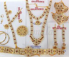 Bride Jewelry 10 pices set Bharatanatyam dance white and maroon stone Traditional India jewellery set
