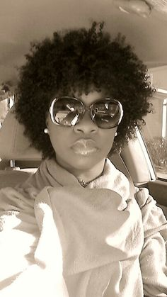 where does one get such a nice afro curly wig! My Hairstyle, Cool Hairstyles, Big Hair, Your Hair, Black Power, Curly Hair Styles, Natural Hair Styles, Coiffure Hair, Pelo Natural