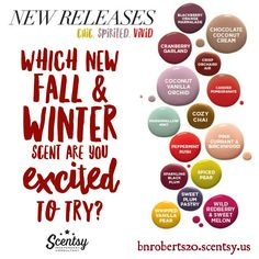 New Fall/Winter 2016 Scentsy Fragrances https://bnroberts20.scentsy.us #scentsy…