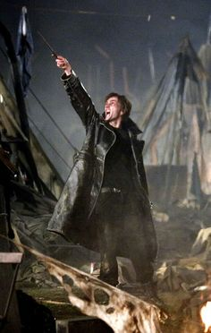David Tennant as Barty Crouch Jr. (He looks pretty awesome in leather!)