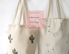 DIY: Cómo estampar una tote bag
