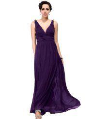 Ever Pretty Elegant V-neck Long Chiffon Crystal Maxi Evening Dress http://thestyletown.com/dresses/special-occasion-dresses