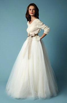 Abito sa sposa inverno Fancy Bridal NY