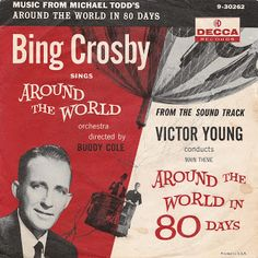 Bing Crosby / Victor Young - 1957  Decca #9-30262