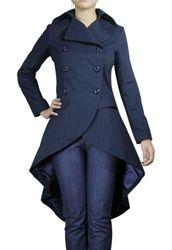 gothic clothing clothes punk trench jacket coat