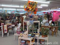 Stores decoration ideas timeless treasures fun fantastic fabulous thrift store decorating ideas halloween decoration ideas for . Antique Booth Displays, Restaurants, Saloon, Dollar Store Christmas, Store Displays, Dollar Stores, Thrift Stores, Retail Design, Layout Design