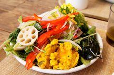 fresh Japanese style salad