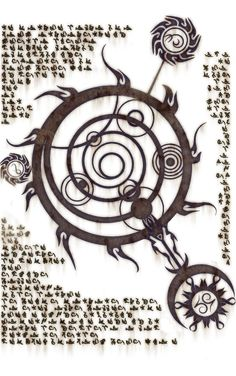 The Oghma Infinium, Skyrim. - This is going into my tattoo - I was playing Skyrim and found the book this is in - I love it The Elder Scrolls, Elder Scrolls Skyrim, Skyrim Tattoo, Magic Symbols, Desenho Tattoo, Book Of Shadows, Sacred Geometry, Dungeons And Dragons, Game Art