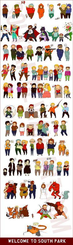 South Park Fan Art | welcome to south park by soltian fan art digital art drawings movies ...
