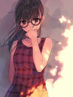Imagem de anime, girl, and anime girl