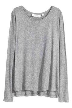 Camisola em jersey canelado | H&M
