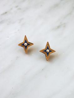 enamel earring loop findings 4pcs-2 loops gold tone enamel red Bird connector
