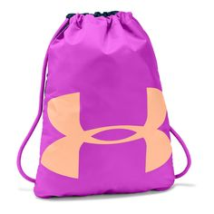 Under Armour Ozsee Sackpack Fuchsia/Peach Gymsack Athletic Training, Training Shoes, Gym Backpack, Drawstring Backpack, Techno, Under Armour Backpack, Tech T Shirts, Man Weave, Go Bags