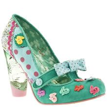 My child will own these...  Hope she learns to walk in heels at an early age!