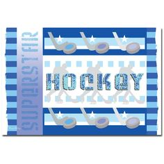 'Hockey' Canvas Art
