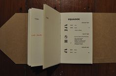 Travel Itinerary Document on Behance
