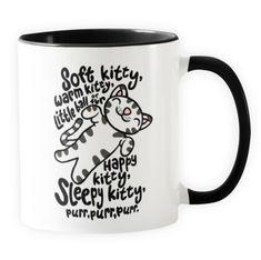Soft Kitty - Novelty Cat Mug - Cat Lovers Australia