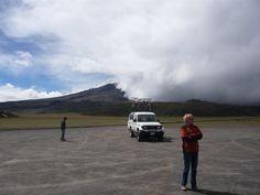 Cotopaxi, Ecuador - climbing a volcano and then cycling down