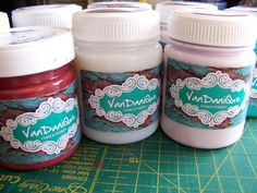 VanDaniQue Chalk Paint Chalk Paint, Coconut, Jar, My Favorite Things, Crafts, Painting, Food, Products, Manualidades