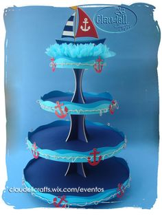 Nautical Birthday Cakes, Mickey Birthday, Mickey Party, Baby Birthday, Sailor Birthday, Nautical Mickey, Nautical Cake, Nautical Party, Sailor Party