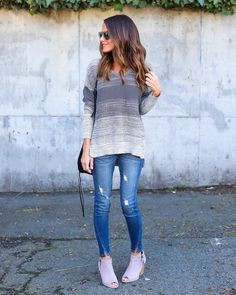 Tone It Down Cotton Sweater - FINAL SALE