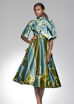 Glambox:Beautiful make~up is our hallmark!: Fashion Looks by Vlisco