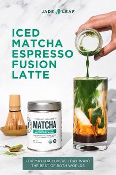 Easy Mocktail Recipes, Tea Recipes, Coffee Recipes, Green Tea Drinks, Cocktail Drinks, Yummy Drinks, Healthy Drinks, What Is Matcha Tea, Breakfast King