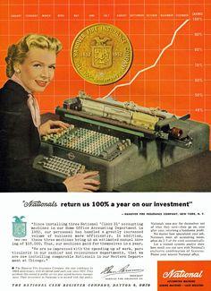 National accounting machines, 1952