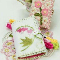Blushing Needlebook Pattern Crabapplehill Studio