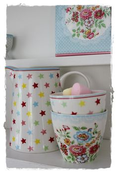 Greengate with stars
