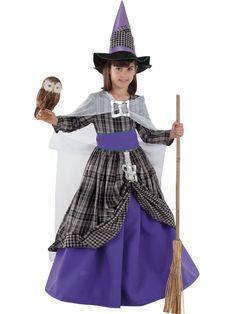 DisfracesMimo, disfraz de bruja malvada ni�a varias tallas. �ste disfraz de Halloween es ideal para celebrar la Fiesta de la Noche de las Brujas cada vez m�s arraigada en nuestro Pa�s en Pub's. Este disfraz es ideal para tus fiestas tem�ticas de disfraces de miedo y brujas para infantil.
