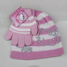 #glove #bobblehat #knit #cute  #hat #character #accessory #yam #crocheting #crochet #toddler #HelloKitty #headwrap #magazine #love #blogger #pattern #new #style  #knitting #modeling #fashion #gift #amazing #fun #snow #design #fashionclothesoutlet #handmade pf15  2-7yrs