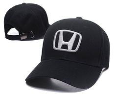 700ffcca294 Brand Car Headwear Baseball Caps Honda Hats 001 Flat Brim Hat