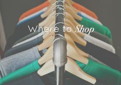 Where to Shop - San Francisco | The Simple Proof