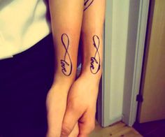 infinity tatoo...  I would so get this with a Best Friend<3