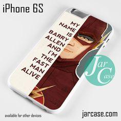 The Flash Quotes Phone case for iPhone 6/6S/6 Plus/6S plus