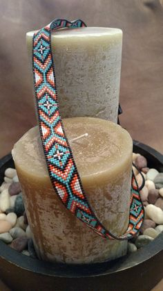 The Turquoise Cheyenne - Custom Beadwork, Hand Beaded Hat Band, Cowboy Hat band Loom Bracelet Patterns, Seed Bead Patterns, Bead Loom Bracelets, Beading Patterns, Beaded Hat Bands, Beaded Belts, Beaded Jewelry, Cowboy Hat Bands, Bead Loom Designs