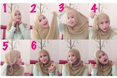 Stylish Folds Hijab Tutorial