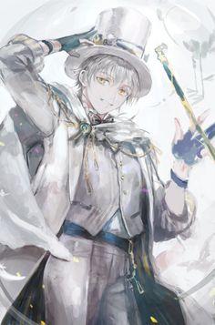 マジシャン的な鶴丸さん #刀剣男士スーツ企画