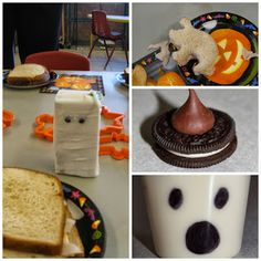 PEANUT/TREE NUT FREE Halloween snacks.  Great for classroom parties!