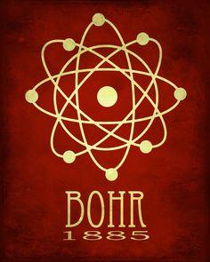 Niels Bohr, né en 1885, est un physicien danois qui a fait des contributions fondamentales à la structure atomique de compréhension. Il a conçu le modèle de Bohr de latome ; la théorie selon laquelle les électrons voyagent sur des orbites discrets autour de noyau de latome.   ---------------- DETAILS ----------------  • Titre : Bohr • 16 pouces x 20 pouces • Imprimé sur papier numérique Kodak Professional et a une valeur darchivage standard de 100 ans. • Liste est pour limpression uniquement…