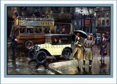 Hey, I found this really awesome Etsy listing at https://www.etsy.com/listing/51920745/austin-cars-1930s-art-deco-print
