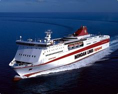 TRAVEL'IN GREECE I Highspeed ferry, Minoan Lines, #Greece