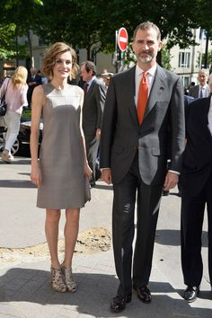 MyRoyals: Spanish State Visit to France, Day 3, June 4, 2015-Queen Letizia and King Felipe