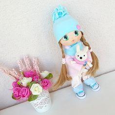 Alice Doll Handmade Doll Fabric Doll Rag от NICEDOLLSANDRABBITS