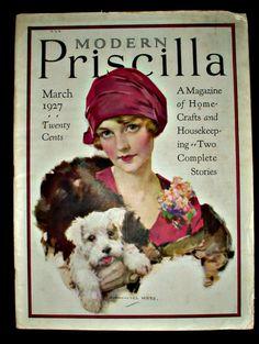 Modern Priscilla vintage magazine
