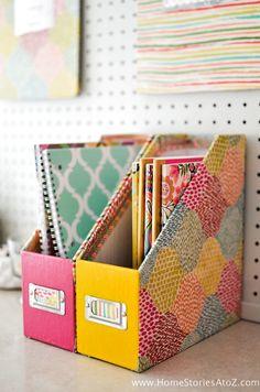 Adorable DIY Dorm School Supplies Wohnheim Dekor w / Tutorials – DIY Organization Diy Home Crafts, Diy Crafts To Sell, Sell Diy, Jar Crafts, Diy Storage Boxes, Paper Storage, Diy Tumblr, Diy School Supplies, Diy Supplies