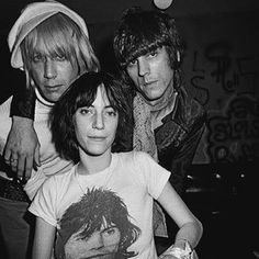 Iggy , Patti Smith & James Williamson